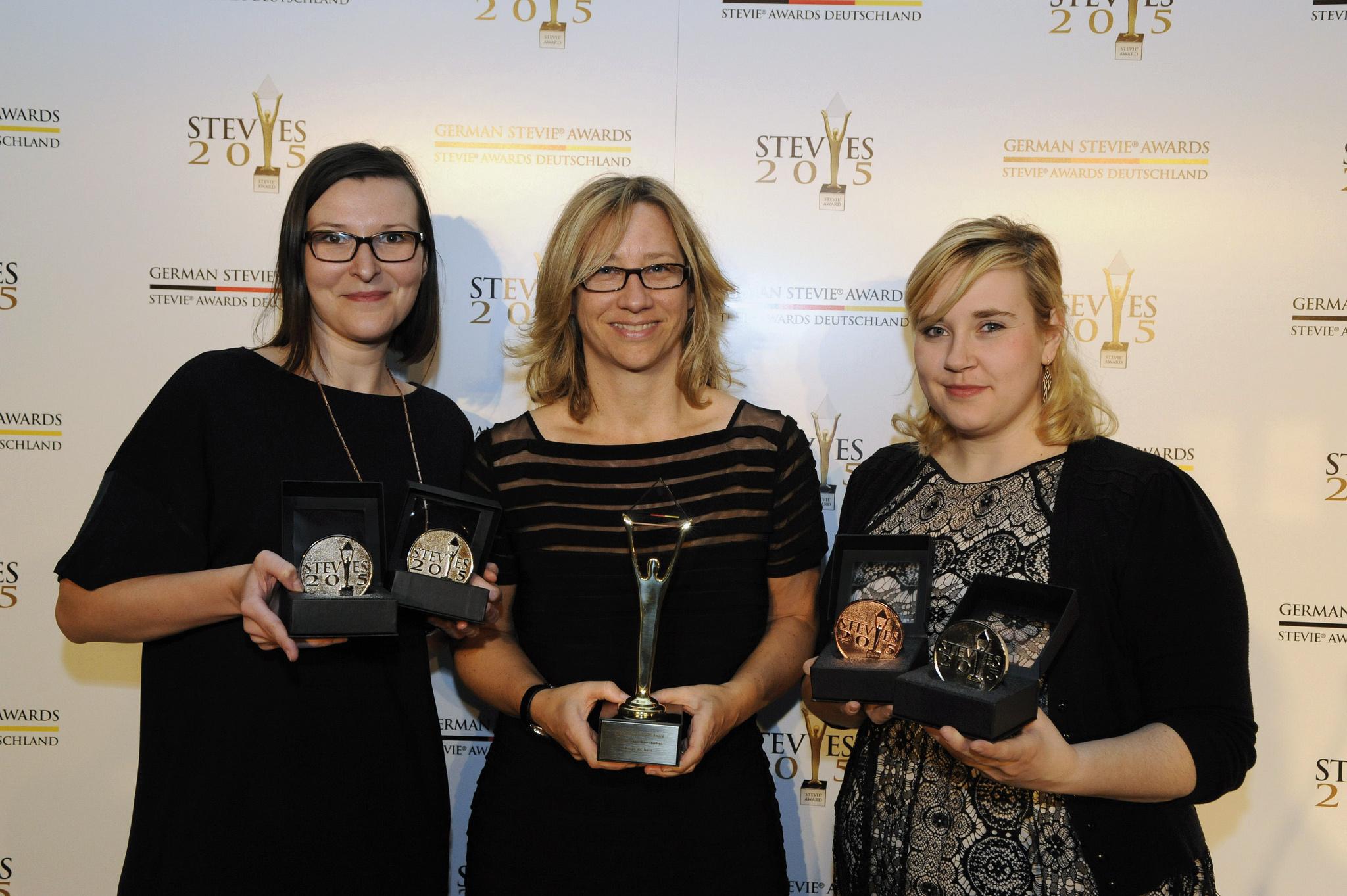 Weber Shandwick, einer der großen Gewinner der 1. German Stevie Awards